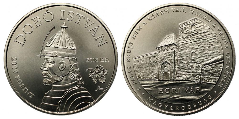 2000 forint Dobó István 2018 BU