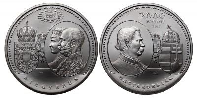 2000 forint Osztrák-Magyar kiegyezés 2017 BU