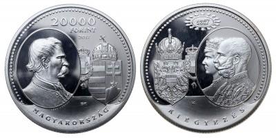 20000 forint Osztrák-Magyar kiegyezés 2017 PP