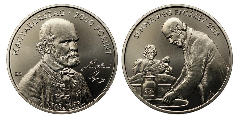 2000 forint Semmelweis Ignác  2018 BU