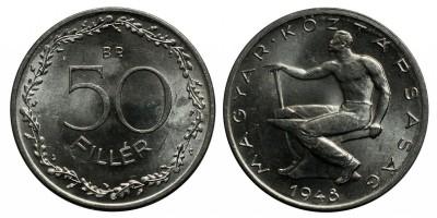 50 fillér 1948