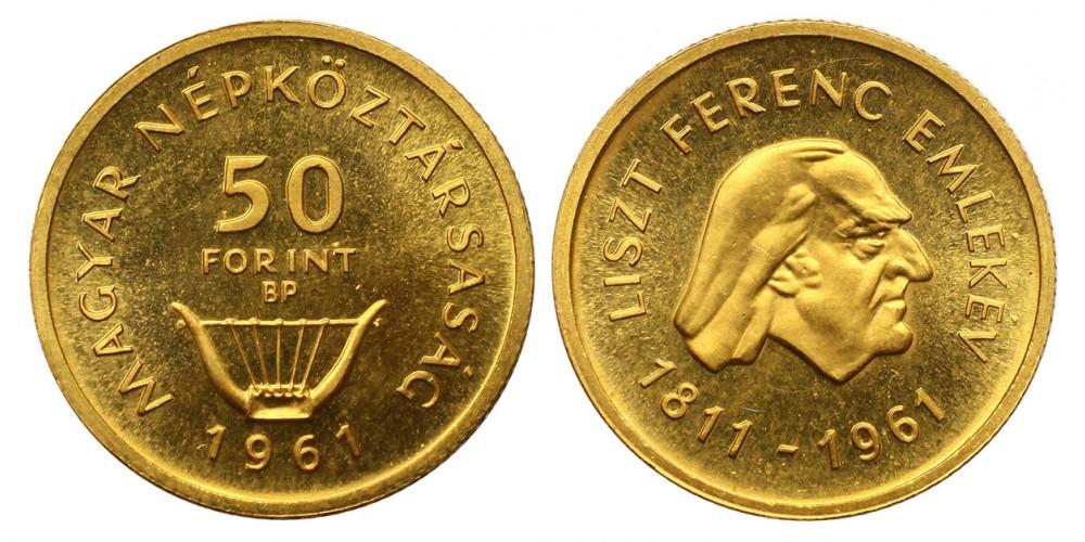 50 Forint Liszt 1961
