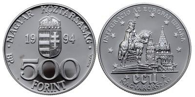 500 forint EU integráció 1994 PP