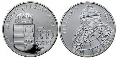 500 forint  Telstar 1992 PP