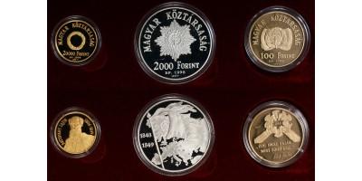 1849-49-es Szabadságharc emlékpénz szett.
