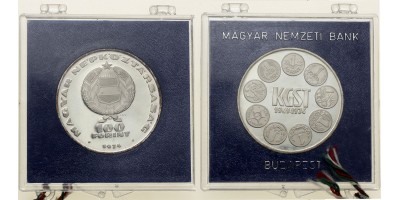 100 forint KGST 1974