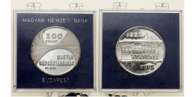 200 forint Magyar Tudományos Akadémia 1975  PP