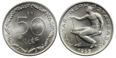 50 fillér 1965