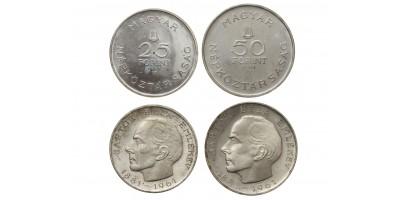 Bartók 25-50 forint 1961