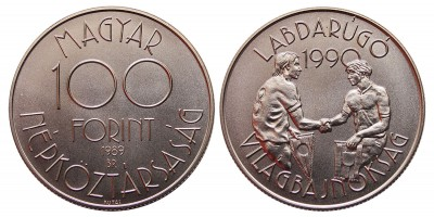 100 forint Foci Vb 1989