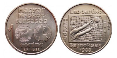 100 forint Foci EB 1988