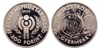 200 forint Nemzetközi Gyermekév  1979