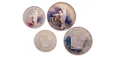 Lake Placid 200-500 forint 1980