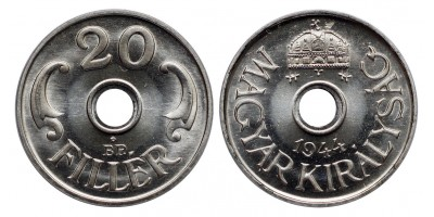20 Fillér 1944 Artex