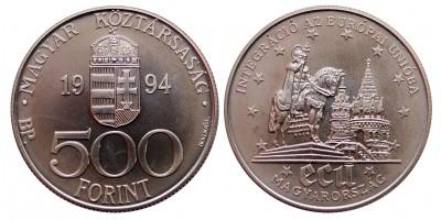 500 forint EU integráció 1994
