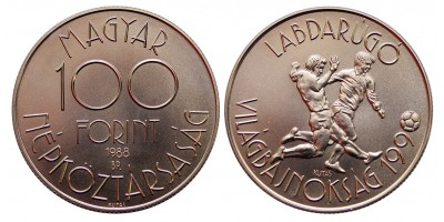 100 forint Foci Vb 1988