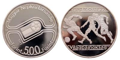 Football Világbajnokság 500 forint 1981