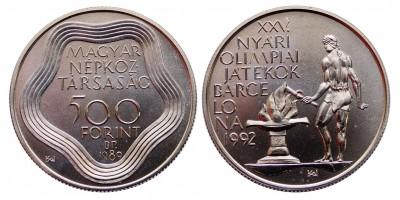 500 forint Olimpia  1989