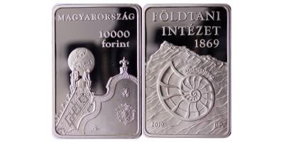 10000 forint Földtani Intézet 2019