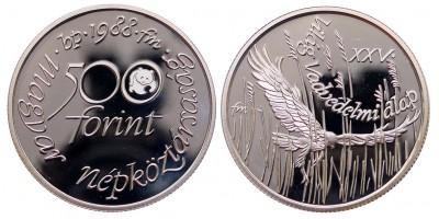 500 forint Világ Vadvédelmi Alap 1988