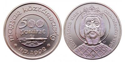Szent László 500 forint 1992
