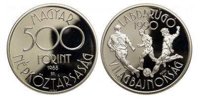 Football Világbajnokság 500 forint 1988 PP