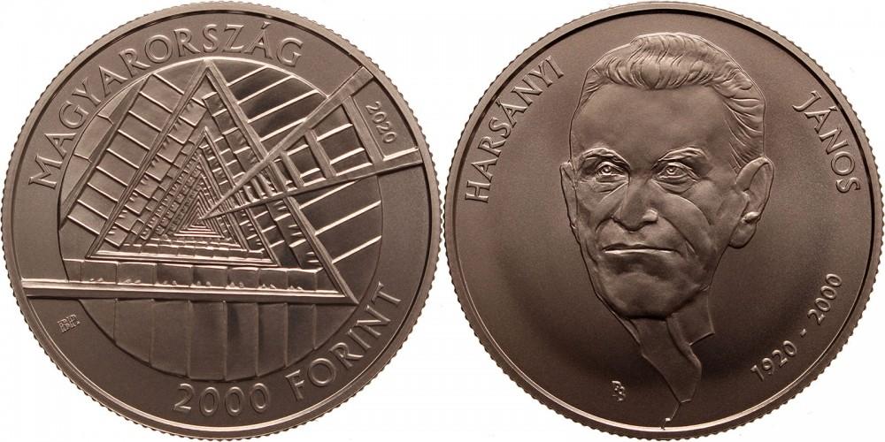 2000 forint 2020 Harsányi János 1920-2020