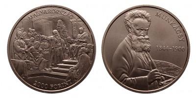 2000 forint Munkácsy Mihály 2019