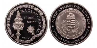 10000 forint 250 éves a Semmelweis Egyetem 2019