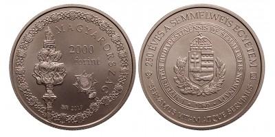 2000 forint 250 éves a Semmelweis Egyetem 2019