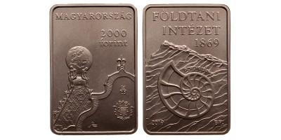 2000 forint Földtani Intézet  2019