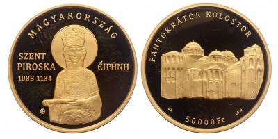 50000 forint Árpádházi Szent Piroska 2019