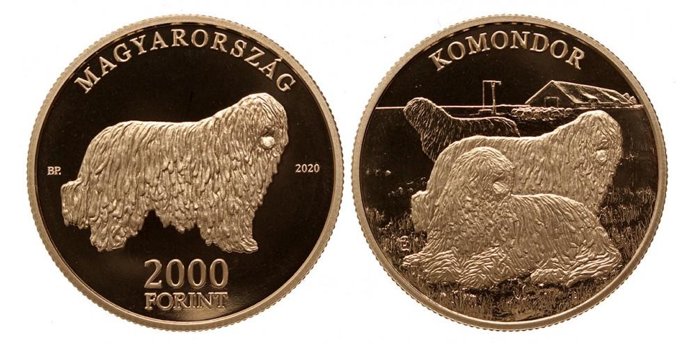 2000 forint Komondor 2020