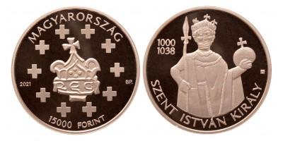 Szent István 15000 forint 2021