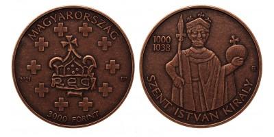 Szent István 3000 forint 2021