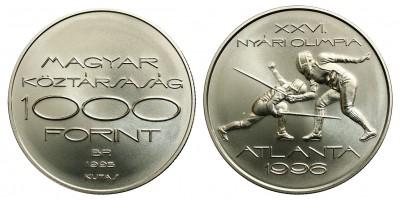 1000 forint Olimpia - Vívás 1996 BU