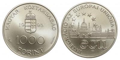 1000 Forint Integráció az Európai Unióba 1995 BU