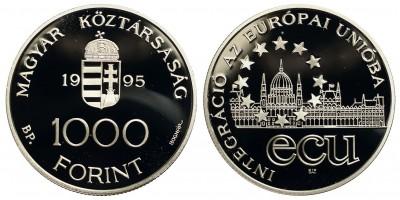 1000 Forint Integráció az Európai Unióba 1995 PP
