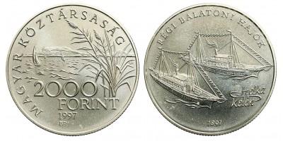 2000 Forint régi Balatoni hajók 1997 BU