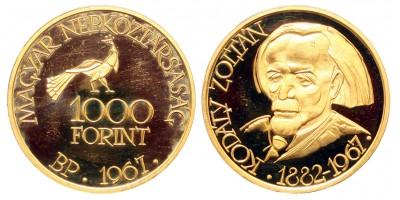 Kodály Zoltán1000 forint 1967