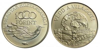1000 forint Védd a világot 1994 BU