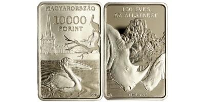 10000 forint 150 éves a Budapesti Állatkert 2016