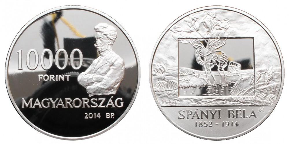 10000 Forint Spányi Béla 2014 PP