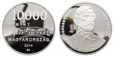 10000 Forint Egressy Béni 2014 PP