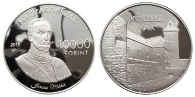 10000 Forint Kőszegi vár 2015 PP