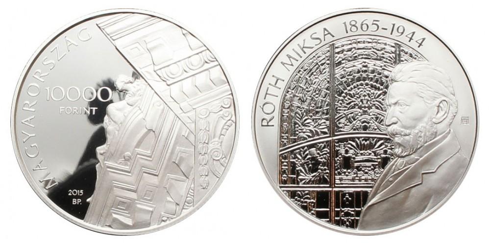 10000 Forint Róth Miksa 2015 PP