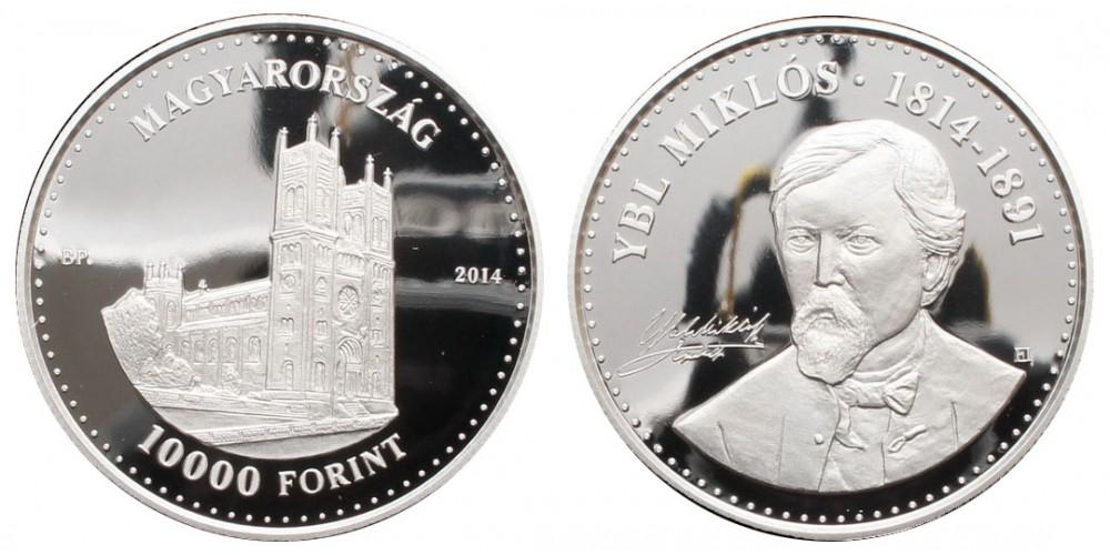 10000 Forint Ybl Miklós 2014 PP