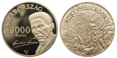 1000 forint Egri csillagok 2013 PP