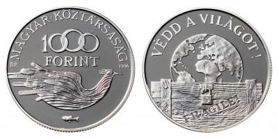 1000 forint Védd a világot 1994 PP