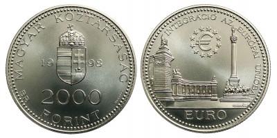 2000 Forint Integráció az Európai Unióba 1998 BU